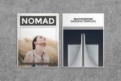Nomad Magazine Template