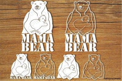 Mama Bear (2) SVG