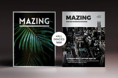Mazing Magazine Indesign Template