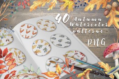 40 Autumn patterns