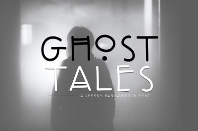 Ghost Tales - A Spooky Handwritten Font
