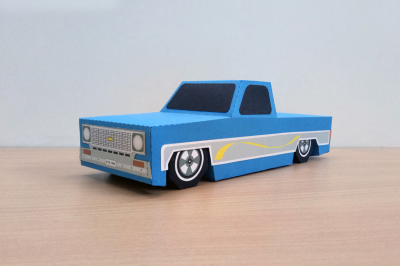 DIY Pickup Truck - 3d papercraft