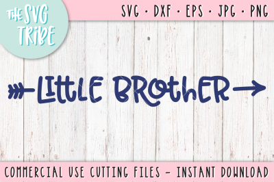 Little Brother, SVG DXF PNG EPS JPG Cutting Files