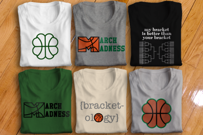 March Madness Basketball Set | SVG | PNG | DXF