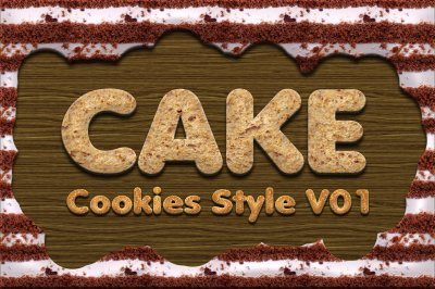 Cake Cookies Style Vol 1
