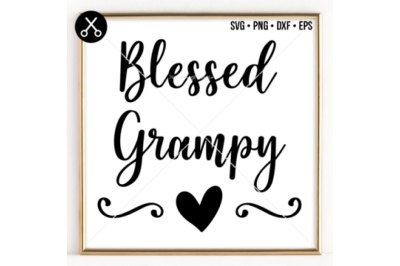 BLESSED GRAMPY SVG -0051