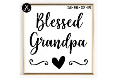 BLESSED GRANDPA SVG -0054