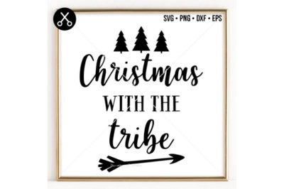 CHRISTMAS WITH THE TRIBE SVG -0075