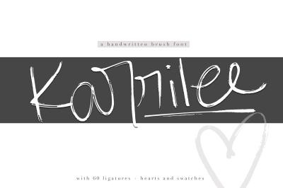 Karrilee - Chic Brush Font