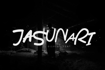 Jasunari Display Font