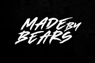 Made by Bears - Font