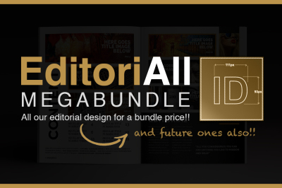 Indesign EditoriAll Megabundle