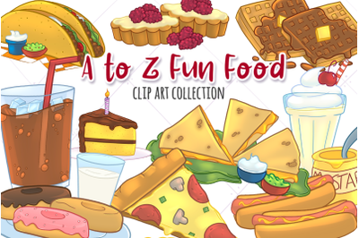 A to Z Junk Food Collection