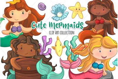 Beautiful Mermaids Collection