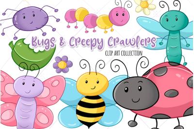 Cute Bugs and Creepy Crawlers