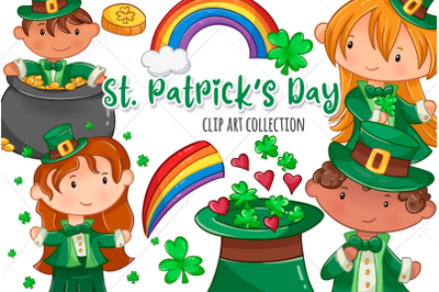 Cute St Patrick's Day Clip Art