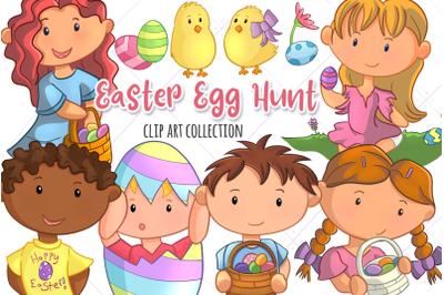 Cute Easter Egg Hunt