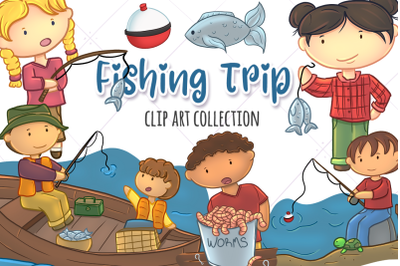 Kids Fishing Trip Collection