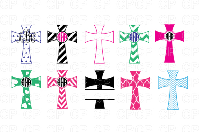 Cross Bundle SVG Cut Files, Cross Clipart