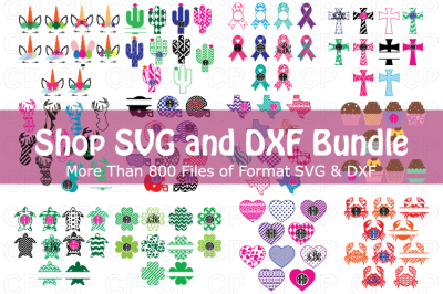 Shop SVG and DXF Bundle, Bundle SVG, Summer Bundle SVG,Shop Bundle SVG
