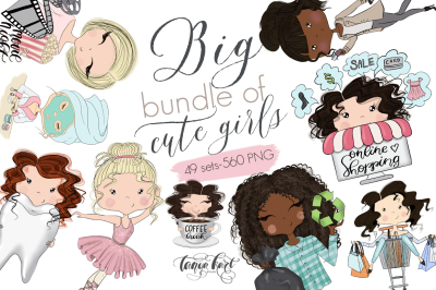 Cute Planner Girls Big Bundle SALE