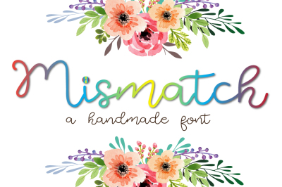 Mismatch - A handmade cool and elegant font