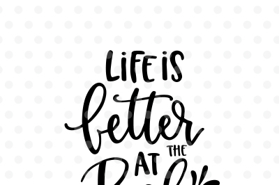Life is better at the Pool SVG, EPS, PNG, DXF