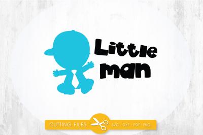 Little man SVG, PNG, EPS, DXF, cut file