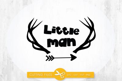 Little man Deer SVG, PNG, EPS, DXF, cut file