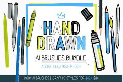 1100+ AI Brushes BUNDLE!