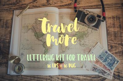 Lettering for Travel