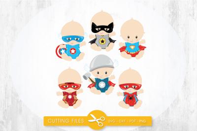 Super babies SVG, PNG, EPS, DXF, cut file