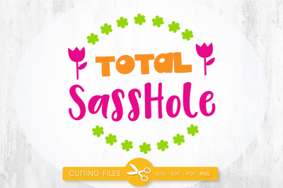 Total sasshole SVG, PNG, EPS, DXF, cut file