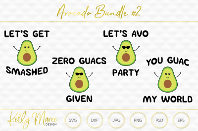Download Avocado Svg File Bundle 2 Cut File Silhouette Cameo Cricut Free