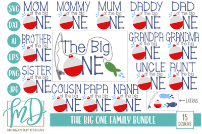 The Big One Family SVG Bundle