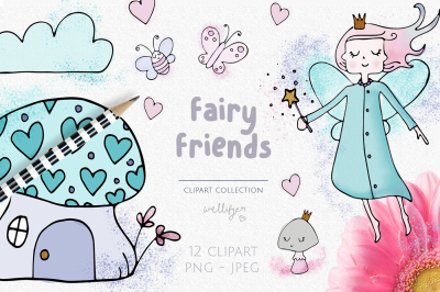 Fairy clipart collection