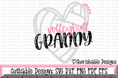 Volleyball Granny Cutting File
