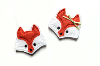 Fox Face ITH Felties | Applique Embroidery