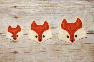 Fox Face ITH Felties | Applique Embroidery