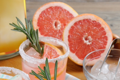 This magnificent cocktail of fresh pink Palomas will change the way yo