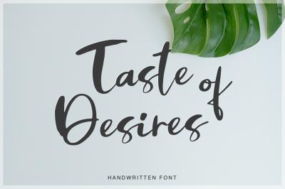 Taste of Desires