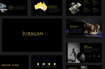 Juragan Multipupose Presentation Template