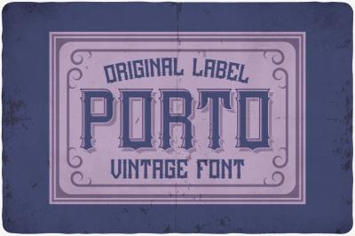 Porto typeface