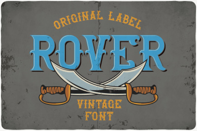 Rover typeface