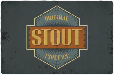 Stout typeface