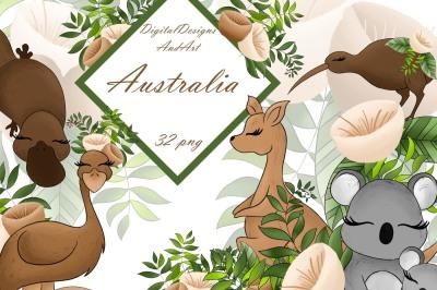 Australia clipart