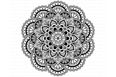 Mandala SVG DXF, Mandala Drawing, Mandala SVG files.