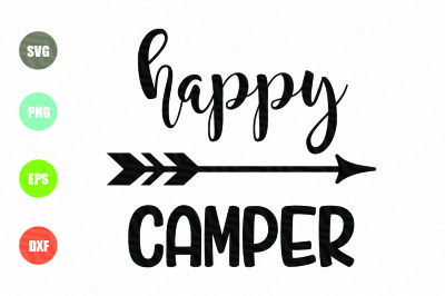 Happy Camper SVG File