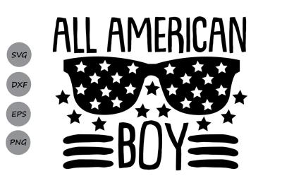 All American Boy Svg, 4th of July Svg, Patriotic Svg, American Boy Svg
