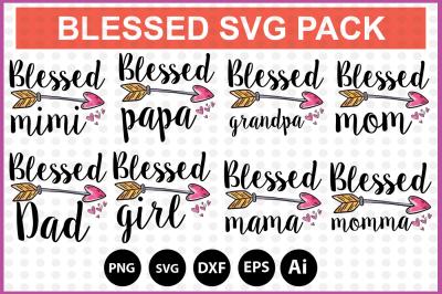 Blessed SVG bundle pack